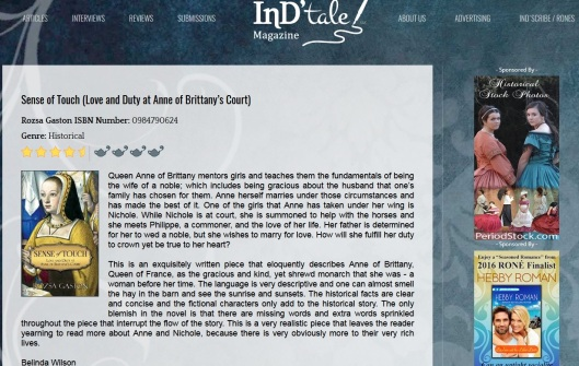 Indtale Magazine review of SOT